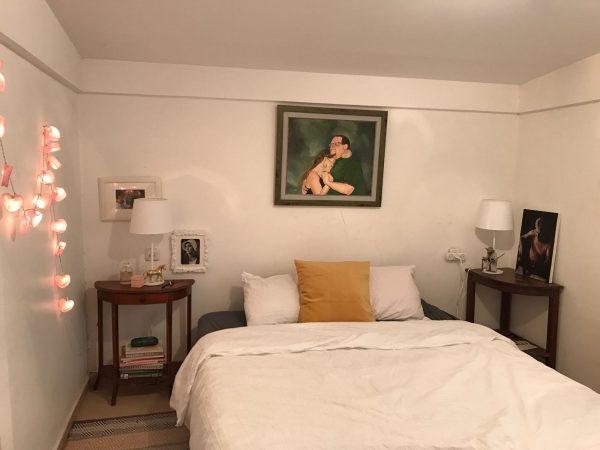חדר שינה אחרי