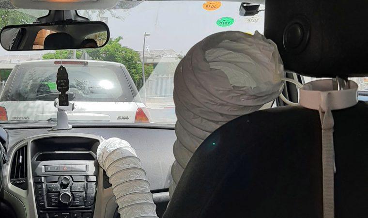פרוייקט DIY מאריך מזגן באוטו לילדים
