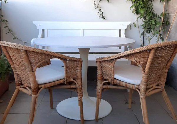 DIY – חידוש שולחן עם אפקט בטון